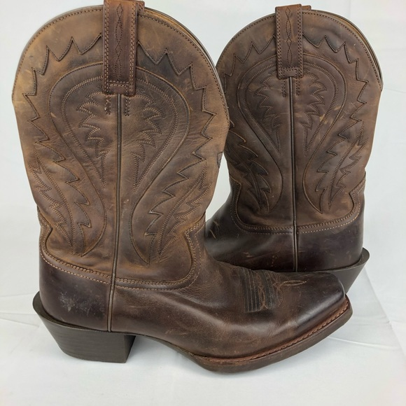 900eb09542a Ariat Legend Phoenix Square Toe Brown Cowboy Boots